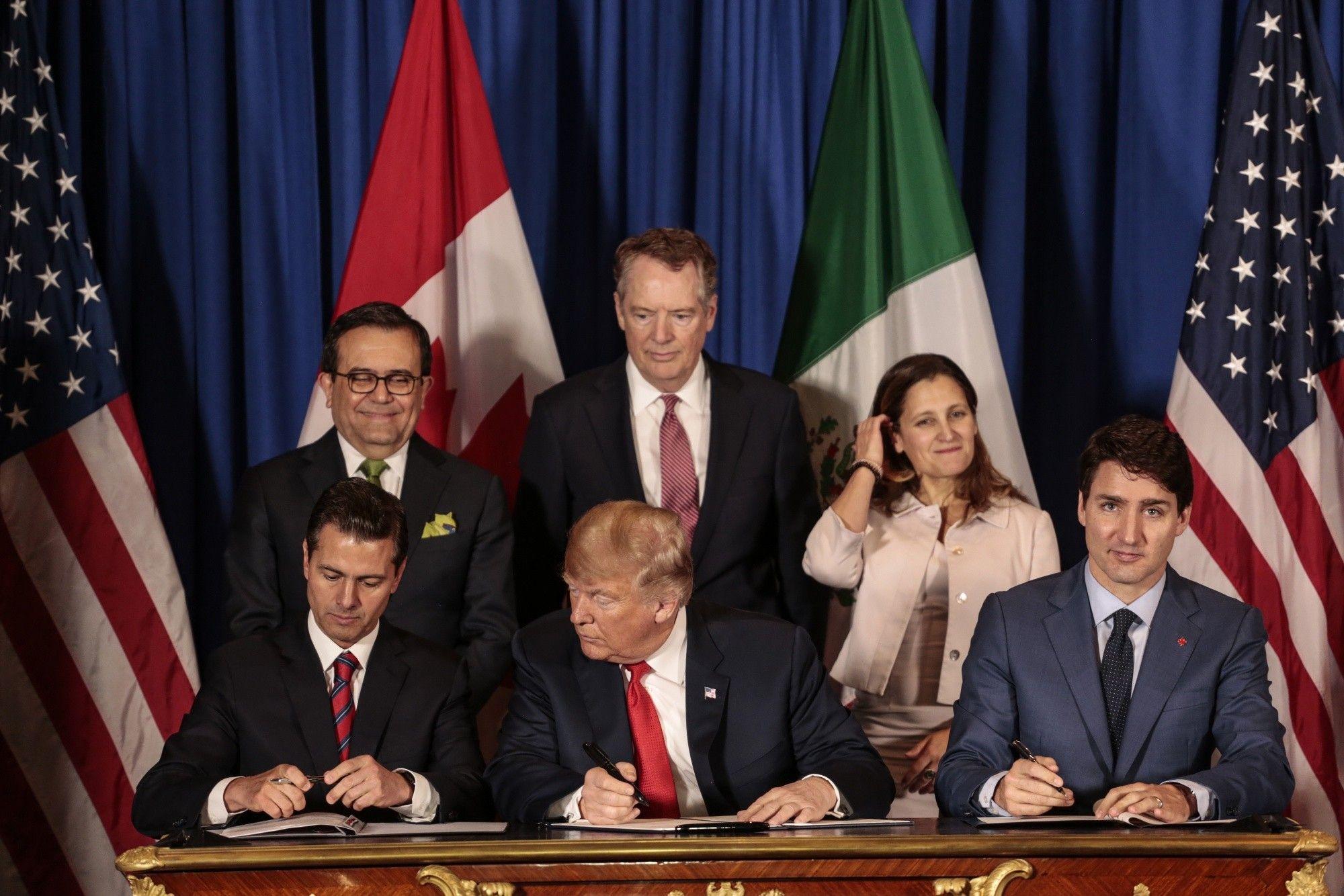 Canadá calla ante una amenaza de Donald Trump de renunciar al TLCAN