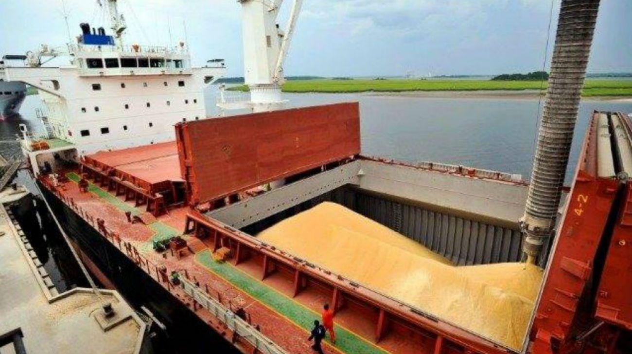 Por qué hay más de 20 buques esperando para descargar soja en Argentina