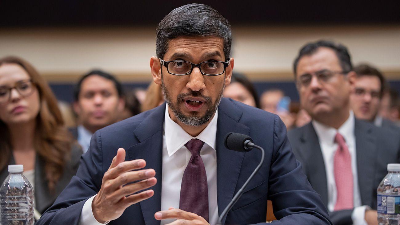 El CEO de Google negó ante el Congreso de EE.UU. planes de lanzar el buscador en China