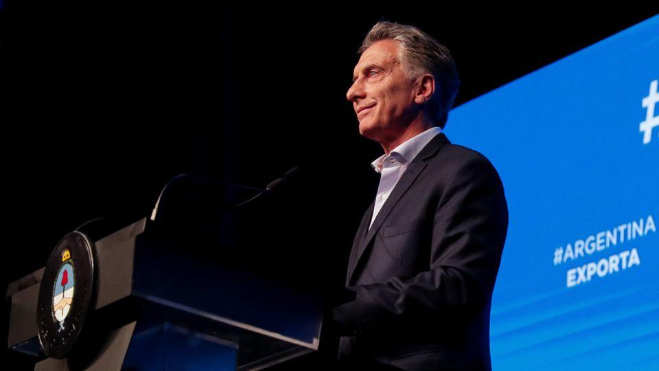 El presidente Mauricio Macri encabezó en Pilar el último encuentro del año del programa Argentina Exporta, donde anunció la puesta en marcha de la Ventanilla Única de Comercio Exterior para impulsar las exportaciones.