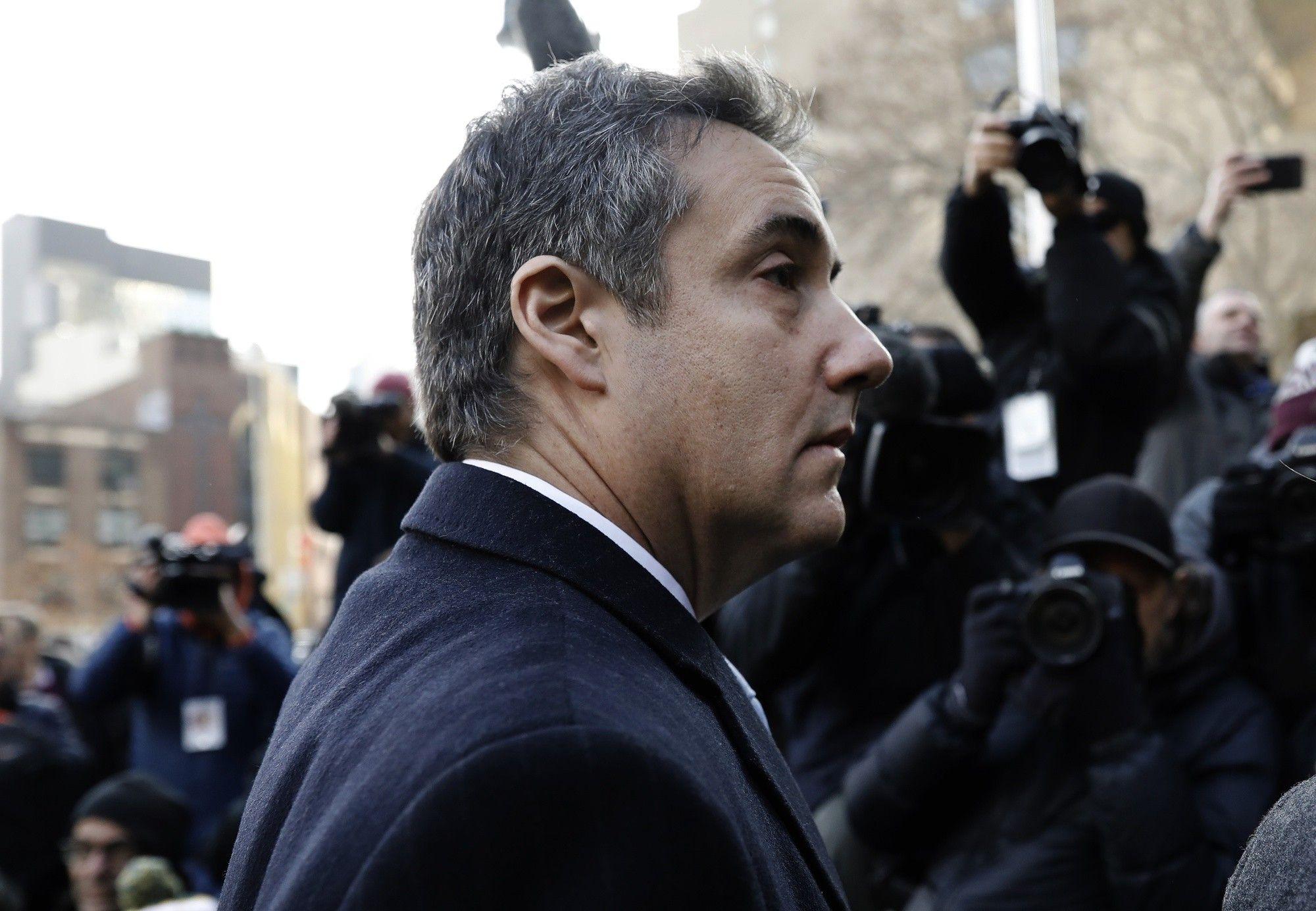 Cohen irá a prisión, pero promete seguir cooperando con Mueller