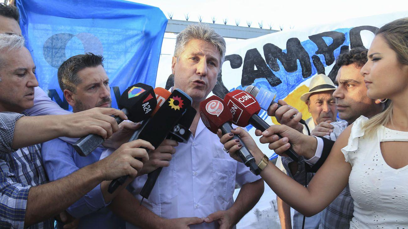 """Amado Boudou salió de prisión: """"En Argentina hay presos políticos"""""""