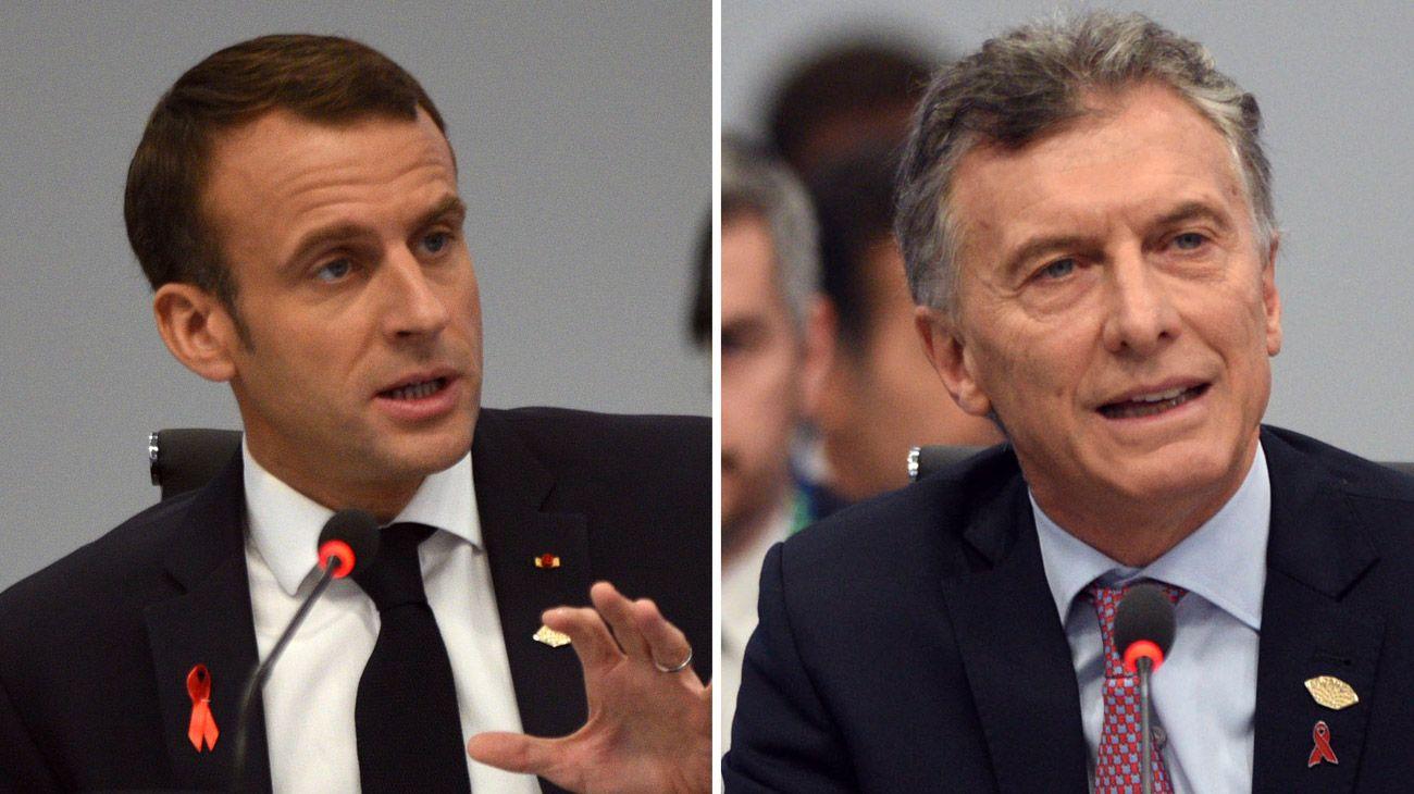 Macri y Macron enfrentan la crisis de su liderazgo