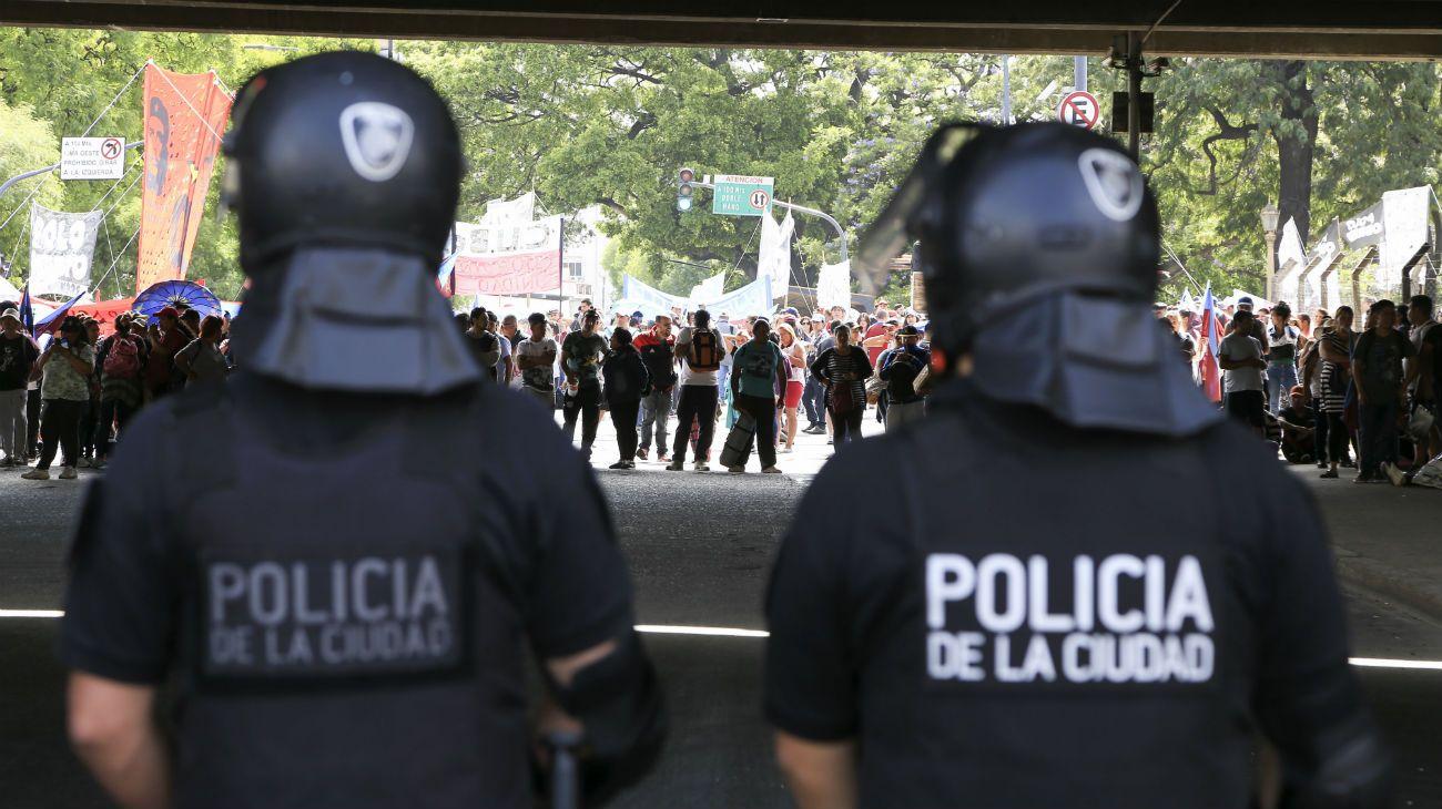Policía de la Ciudad.