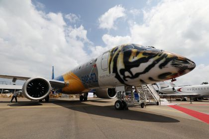 Aircraft Displays And Exhibits at the Singapore Airshow