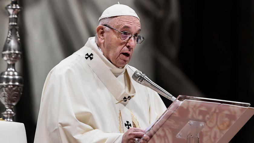 Francisco advirtió sobre de los excesos de la legítima defensa