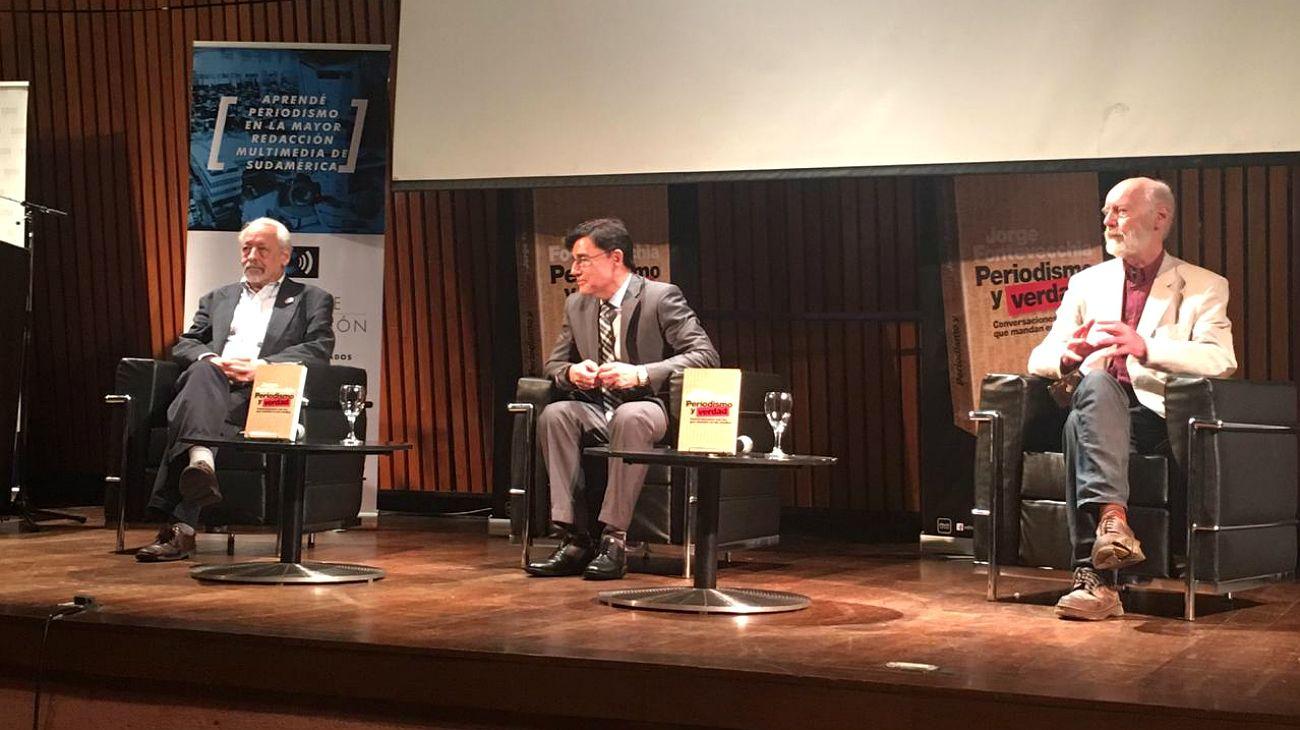 """Horacio Verbitsky: """"Durante las dictaduras, el periodismo sólo podía florecer en los márgenes"""""""