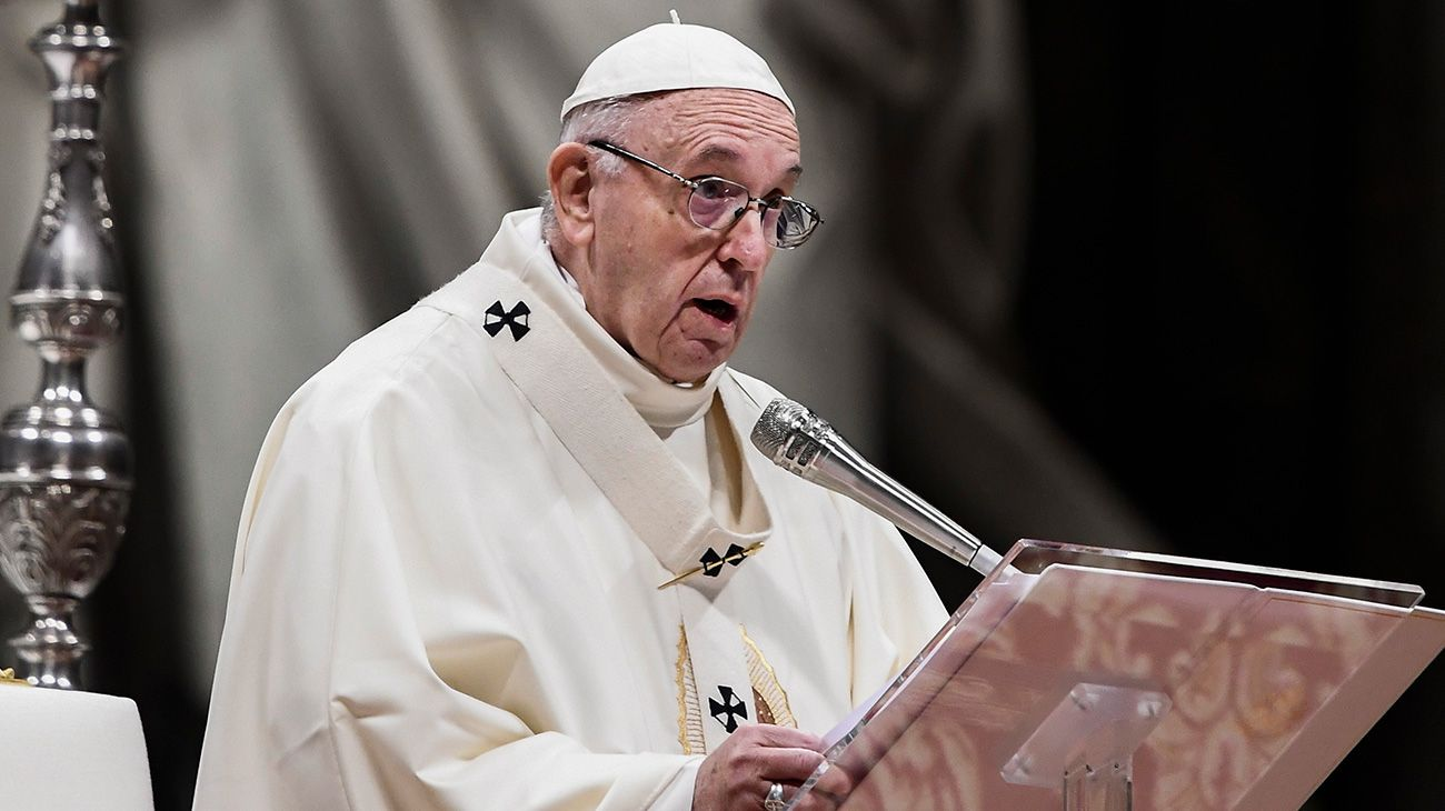 """El Papa criticó los excesos policiales: """"Puede ser un crimen de Estado"""""""