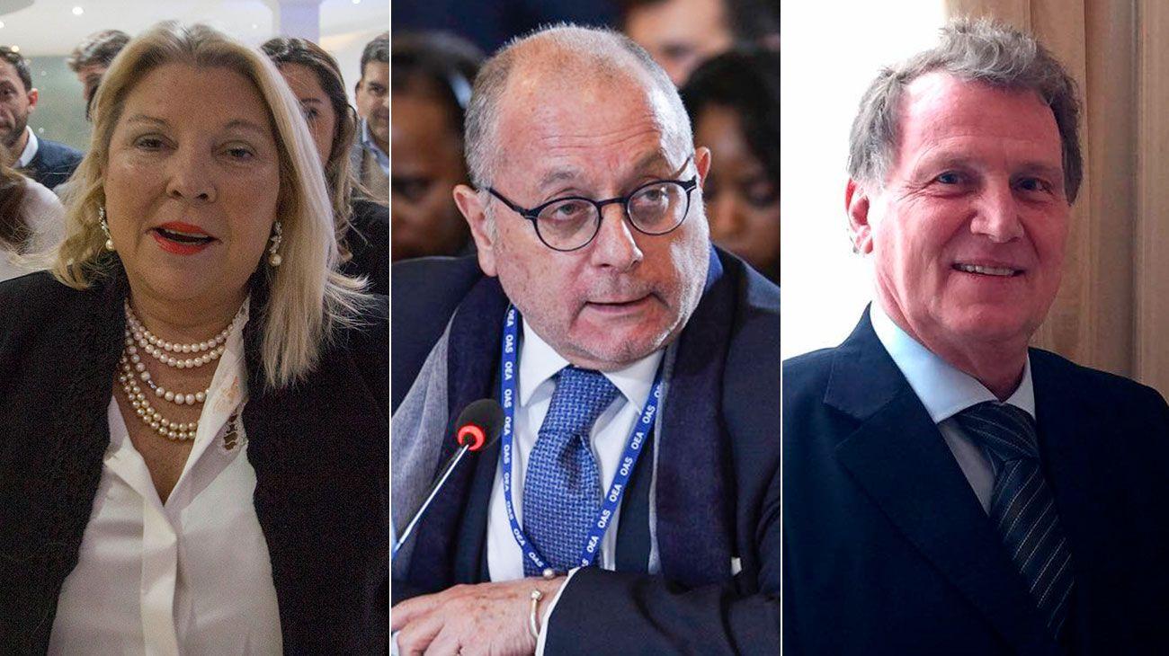 Elisa Carrió pidió interpelar a Jorge Faurie por un tuit del embajador argentino en Londres