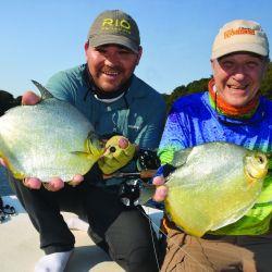 Gran jornada de pesca con mosca en el Paraná Medio, a la altura de Puerto Piracuá. Dónde encontrarlos y cómo tentarlos.