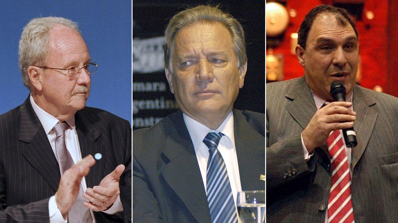 Carlos Wagner, Aldo Roggio, y Carlos Ben