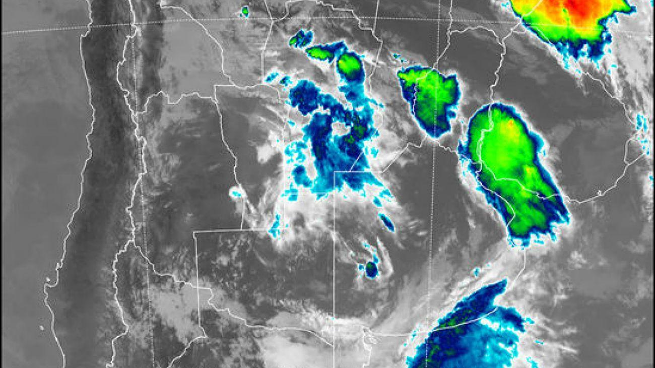 Alertan sobre nuevas tormentas intensas para esta noche