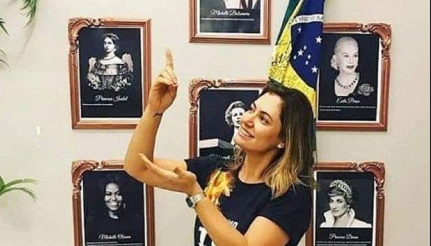 La esposa de Bolsonaro confundió a Evita con Nacha Guevara