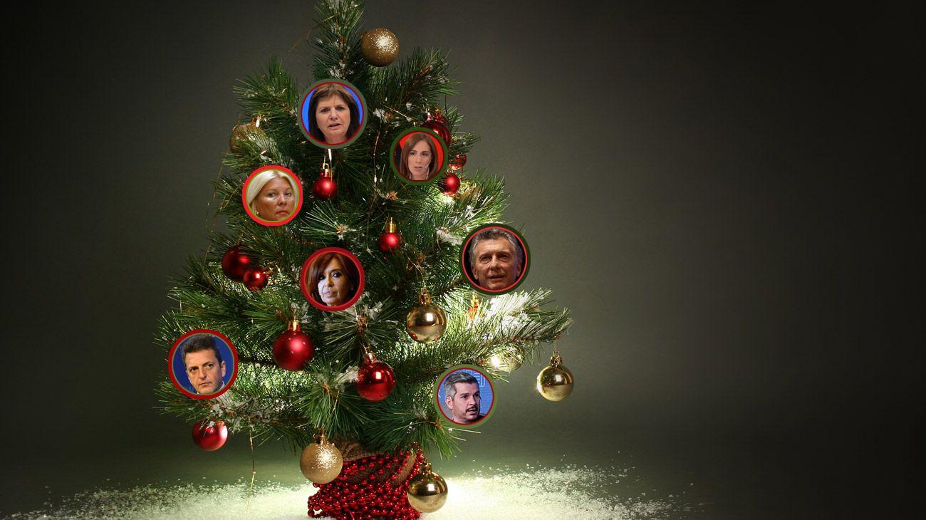 Cuáles son los deseos navideños de los politícos para el 2019