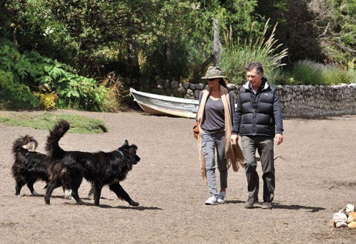 Mauricio Macri ya arribó a Villa La Angostura para pasar las Fiestas