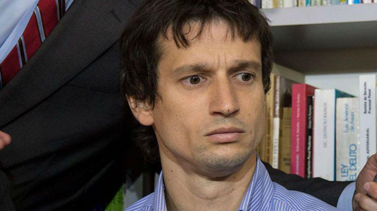 El técnico informático Diego Lagomarsino.
