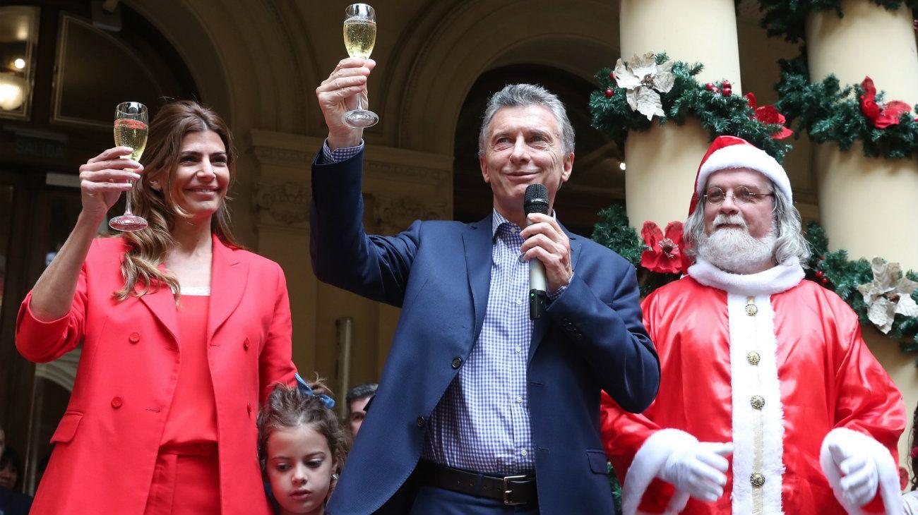 """Macri dejó un mensaje navideño con promesa de campaña: """"Estaremos mejor"""""""