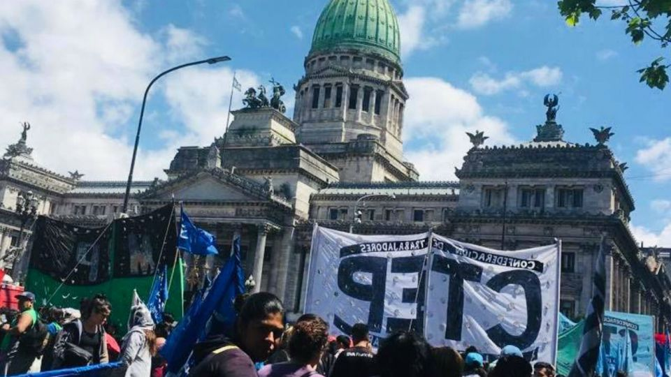 Imagen de archivo | La Confederación de Trabajadores de la Economía Popular (CTEP).