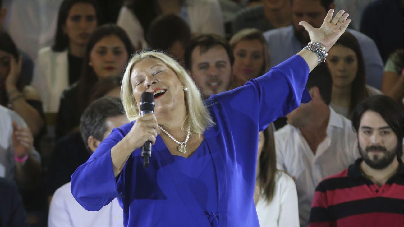 """Elisa Carrió festeja su cumpleaños: """"Soy una vieja espléndida de 62 años"""""""