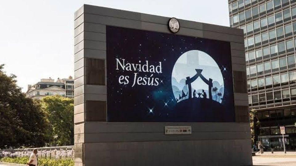 Polémica en las redes por la cartelería de la Ciudad con el mensaje: