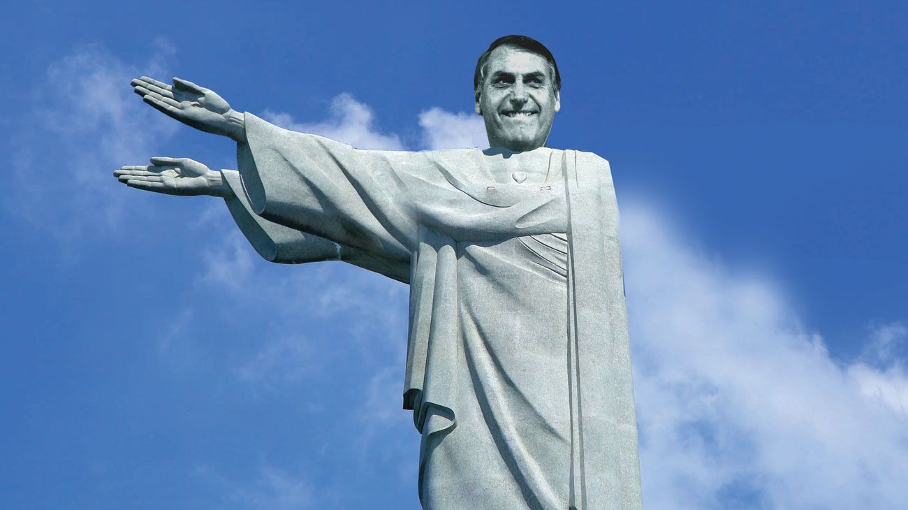 A LA DIESTRA, SINIESTRA Jair Bolsonaro