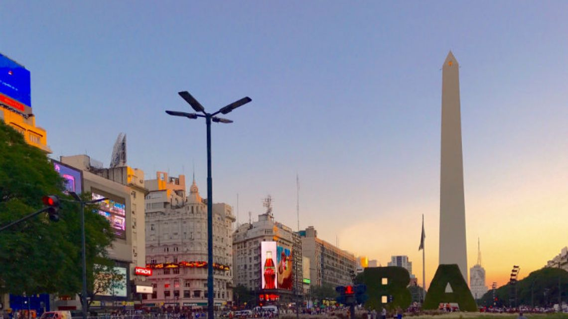 The city of Buenos Aires.