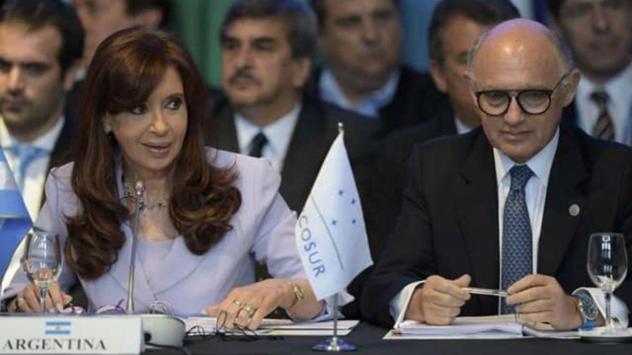 """Cristina Kirchner: """"Héctor Timerman se enfermó por el ataque que sufrió tras la firma del Memorando con Irán"""""""