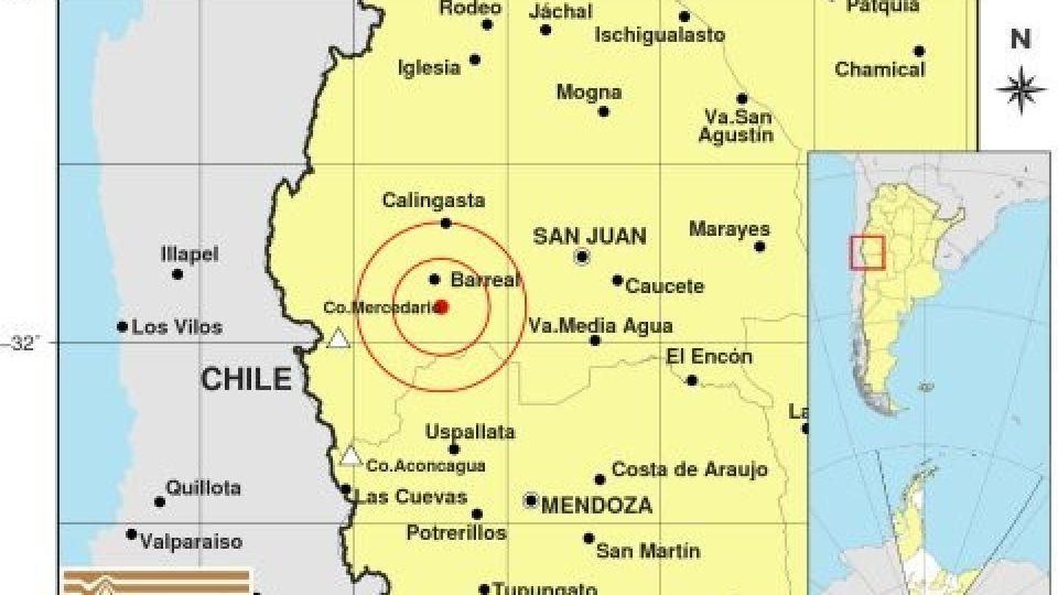 Un fuerte sismo se produjo el 31 de diciembre.