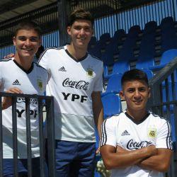 Balerdi, Thiago Alamada y Julián Álvarez