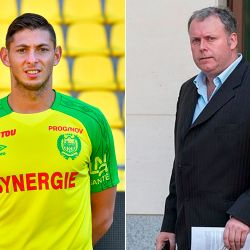 Emiliano Sala y Willie McKay