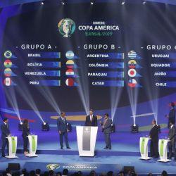 sorteo copa america 2019 afp