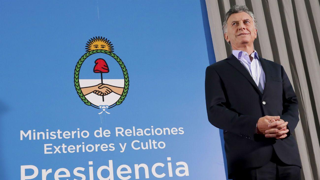 El deseo de año nuevo de Mauricio Macri
