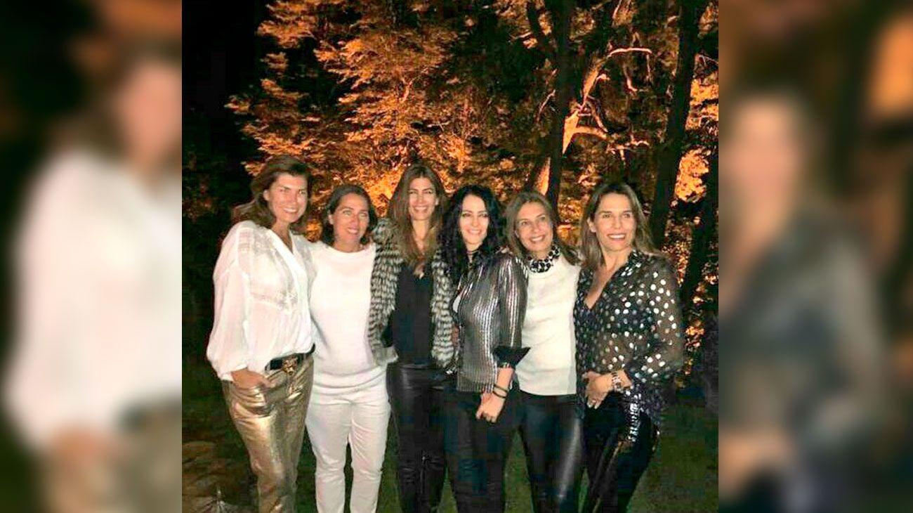 Las fotos de la fiesta de Año Nuevo de Macri y Juliana Awada