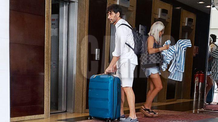A poco días de su regreso al país, Juan Darthés vuelve a Brasil