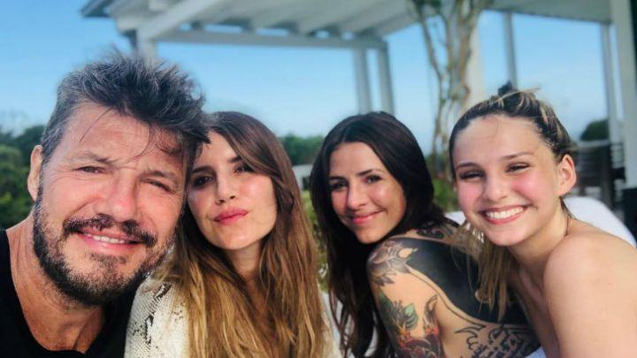 Una de las hijas de Marcelo Tinelli se separó