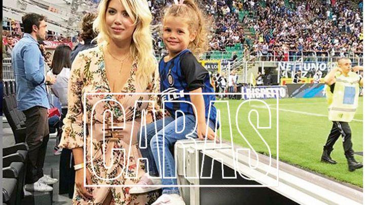 Hinchas del Inter, apedrearon a Wanda Nara mientras viajaba con sus hijos