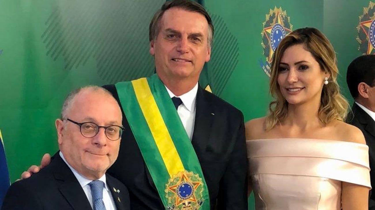 """Bolsonaro: """"Brasil y Argentina van a caminar juntos"""""""