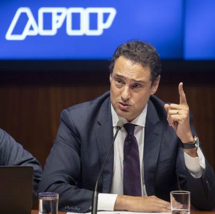 Leandro Cuccioli, titular de la AFIP.