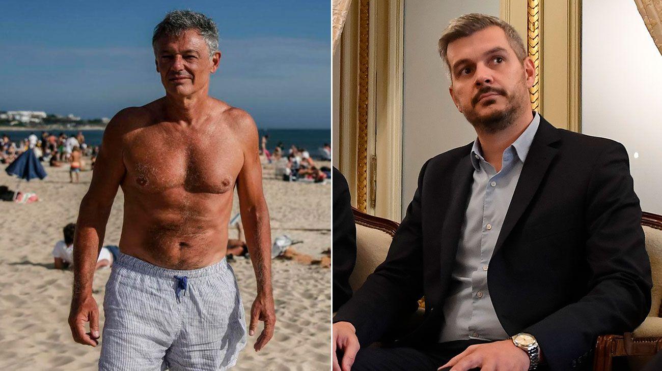 """Una foto de """"Pancho"""" Cabrera en la playa subió la temperatura en Casa Rosada"""