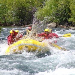 Ya abrió la temporada de verano en el río Corcovado, Chubut, donde la emoción y la adrenalina está asegurada por sus rápidas corrientes.