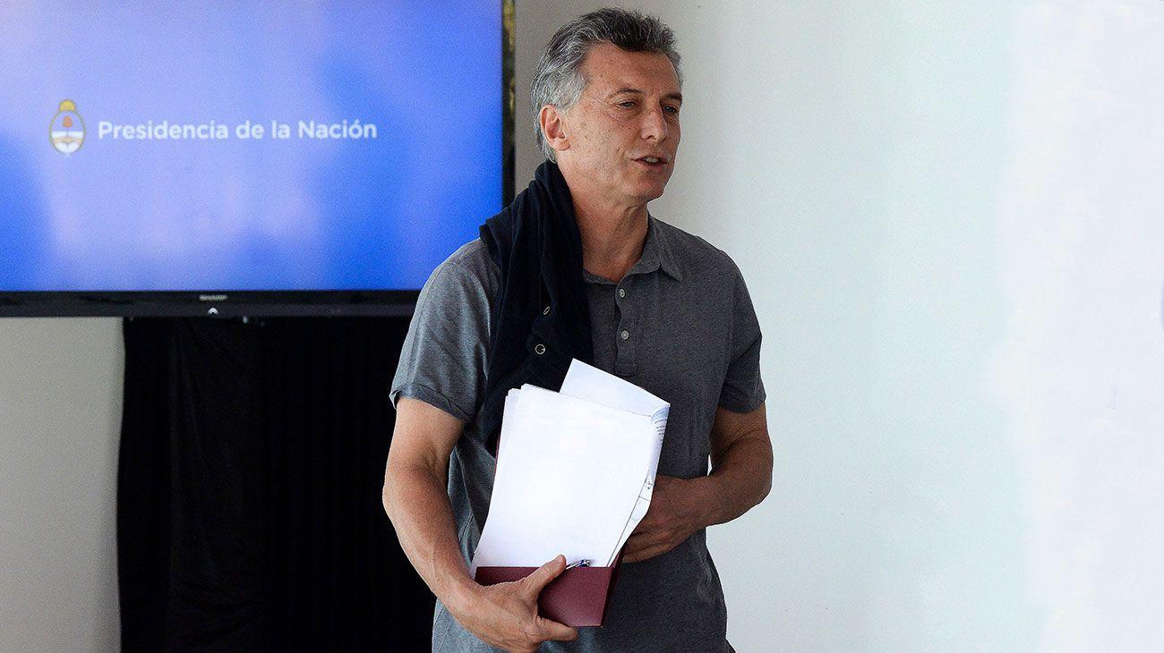 """Mauricio Macri: """"Fueron 70 años de fiesta, no salís en tres"""""""