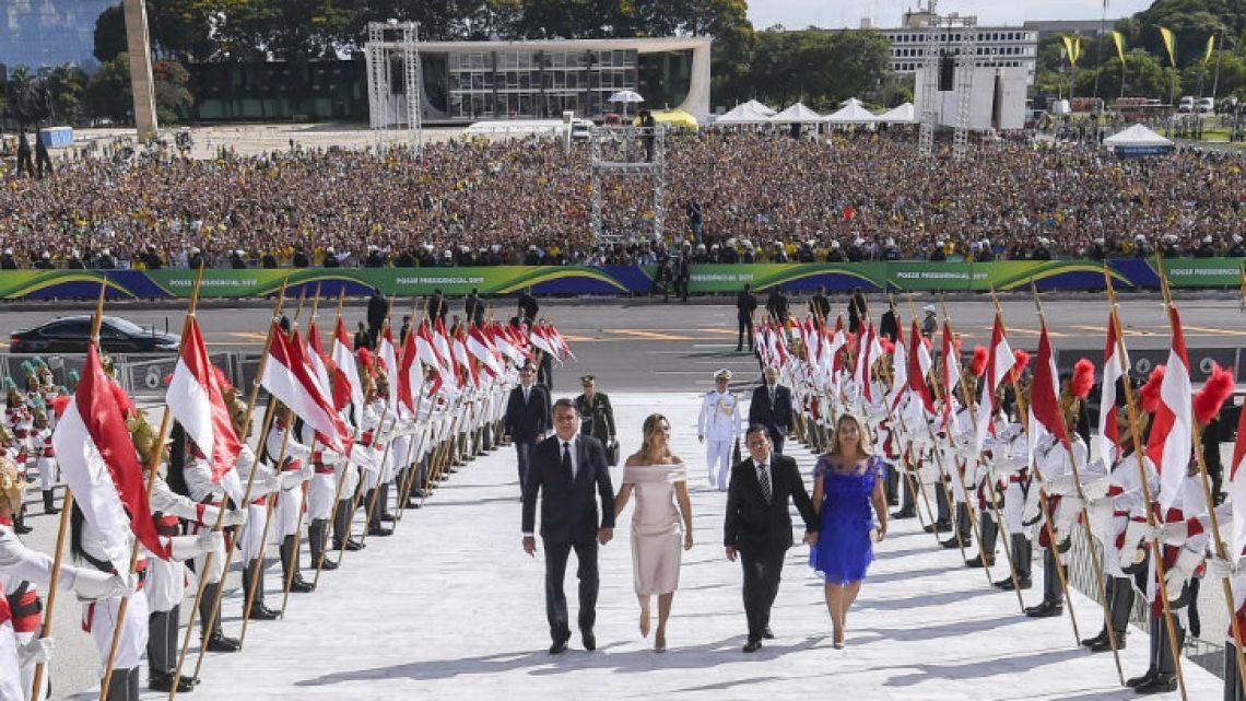 Jair Bolsonaro as Brazil's new elected president.