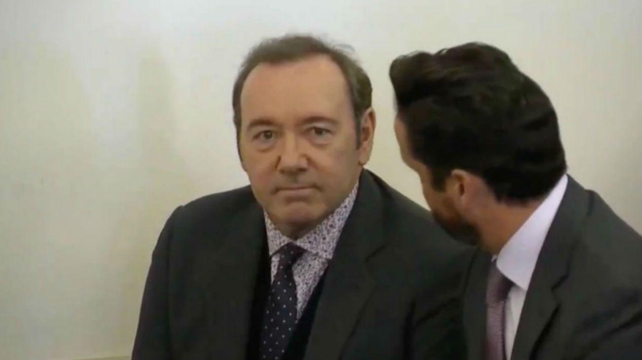 Kevin Spacey declaró ser inocente