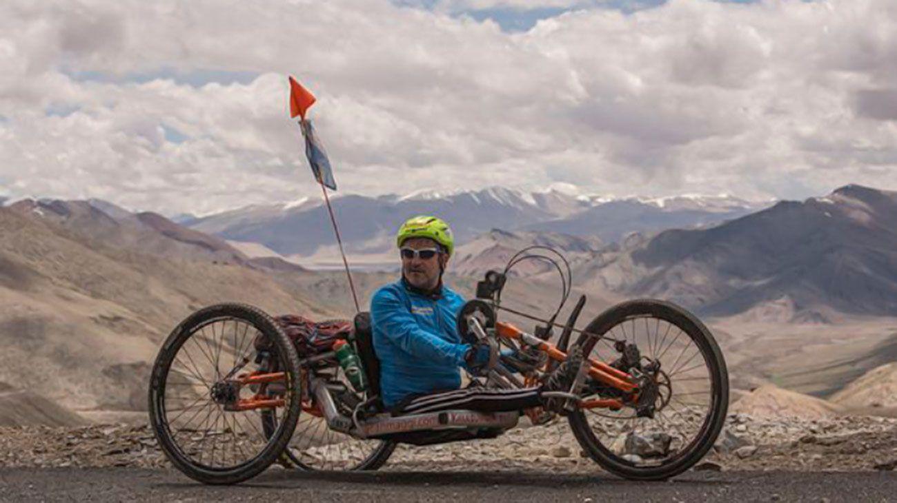 Juan Maggi, el argentino que escaló el Himalaya a pesar de no tener movilidad en sus piernas