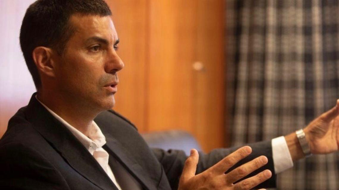 Governor of Salta province Juan Manuel Urtubey.