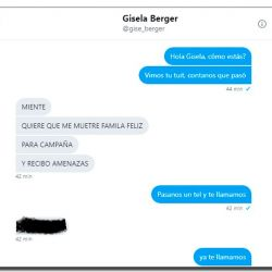 Chat con Gisela Berger