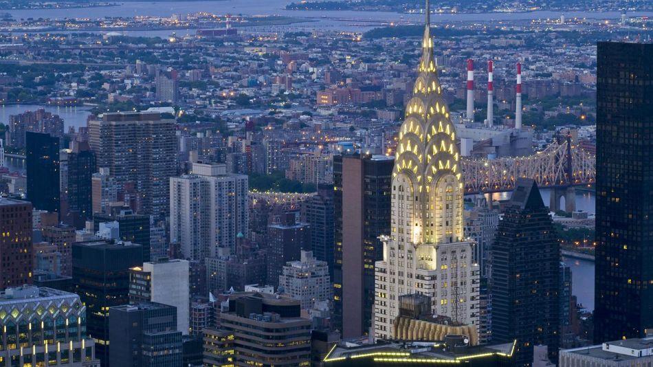 Edificio Chrysler en Manhattan.