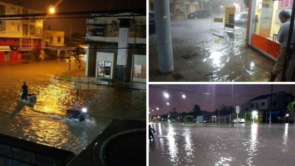 tormentas inundaciones resistencia chaco