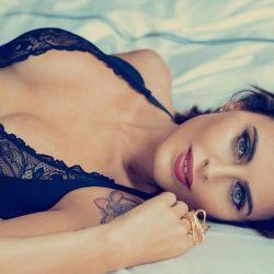 Silvina Luna se desnudó por completo