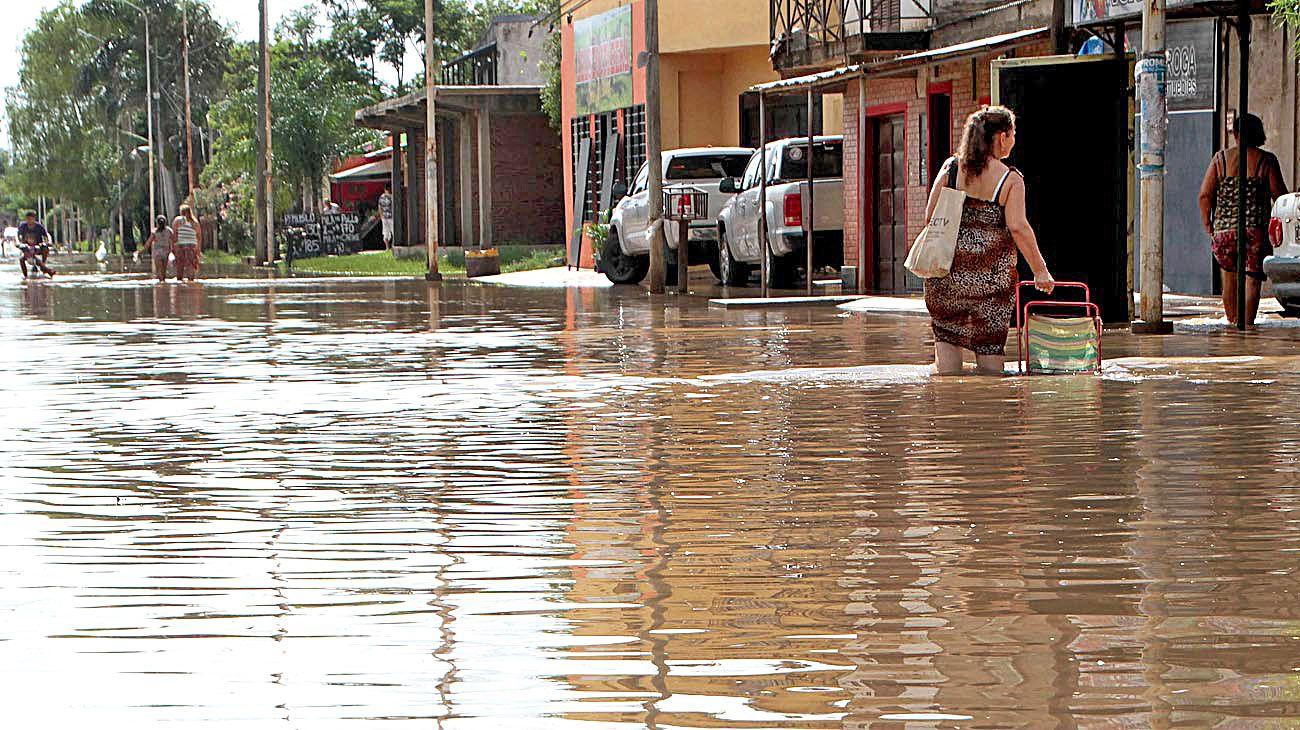 Corrientes. Paso de los Libres, entre los más complicados.